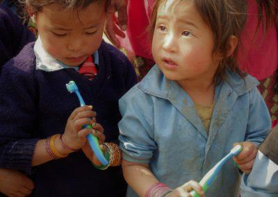 Zahnbürsten für die Kleinsten
