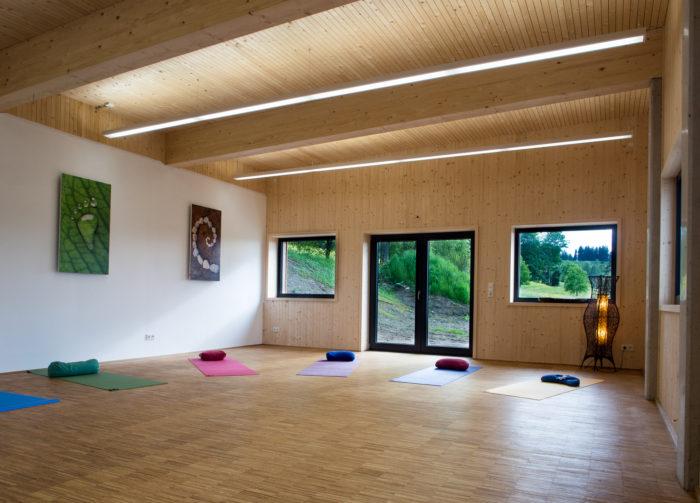 Yoga mit Katja Kügel im Landhaus Kennerknecht